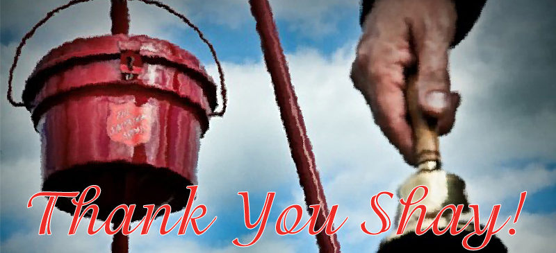 Thank you Shay Thompson for your amazing fundraising efforts!