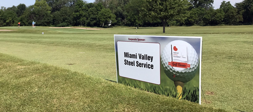 Miami Valley Steel Helped Sponsor the 2017 NKFI/SDI Golf Classic