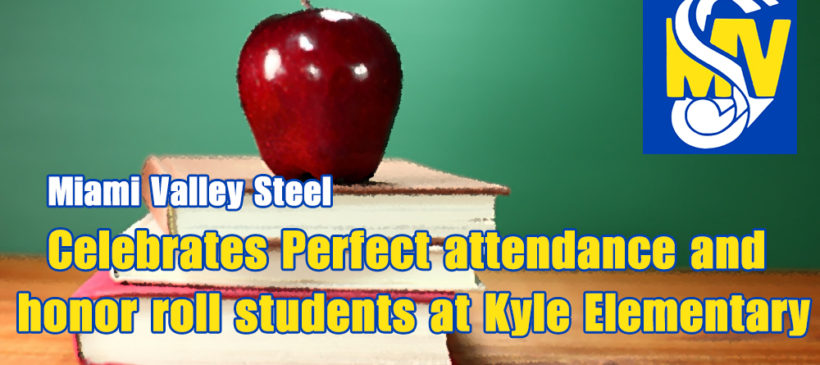 MVS Celebrates Perfect attendance and  honor roll students at Kyle Elementary